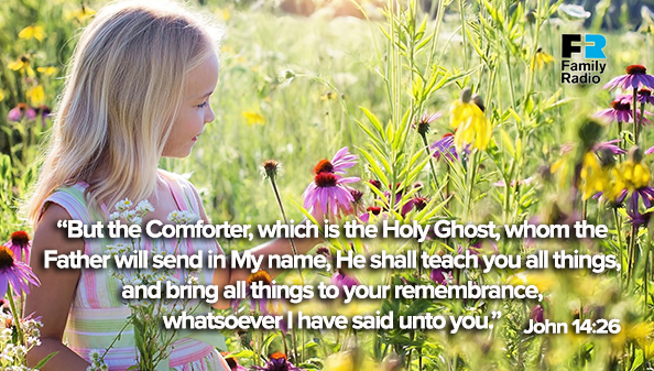 But the Comforter, which is the Holy Ghost, whom the Father will send in My name, He shall teach you all things, and bring all things to your remembrance, whatsoever I have said unto you.