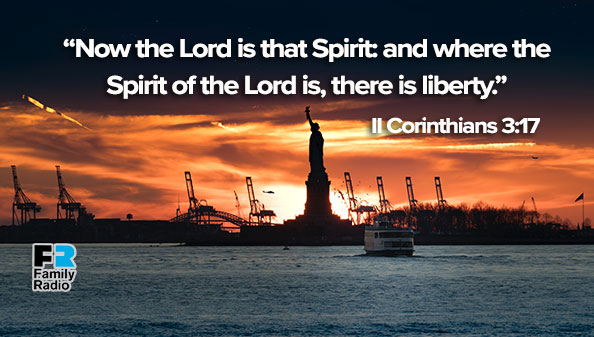 Now the Lord is that Spirit: and where the Spirit of the Lord is, there is liberty.