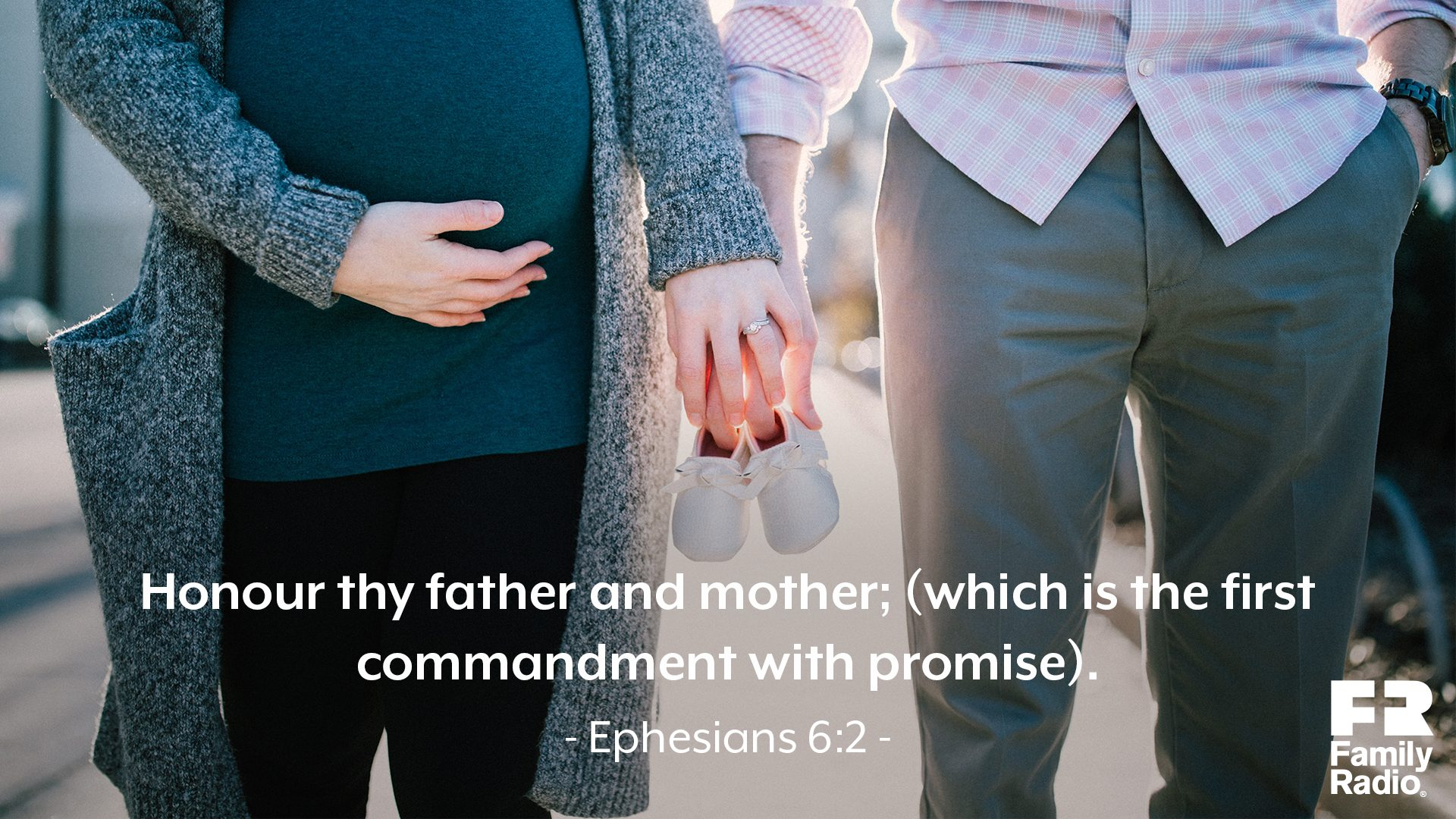 """Honour thy father and mother; (which is the first commandment with promise)."""